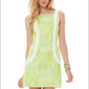 Lilly Pulitzer Crazy Cat House Shift Dress Size 4